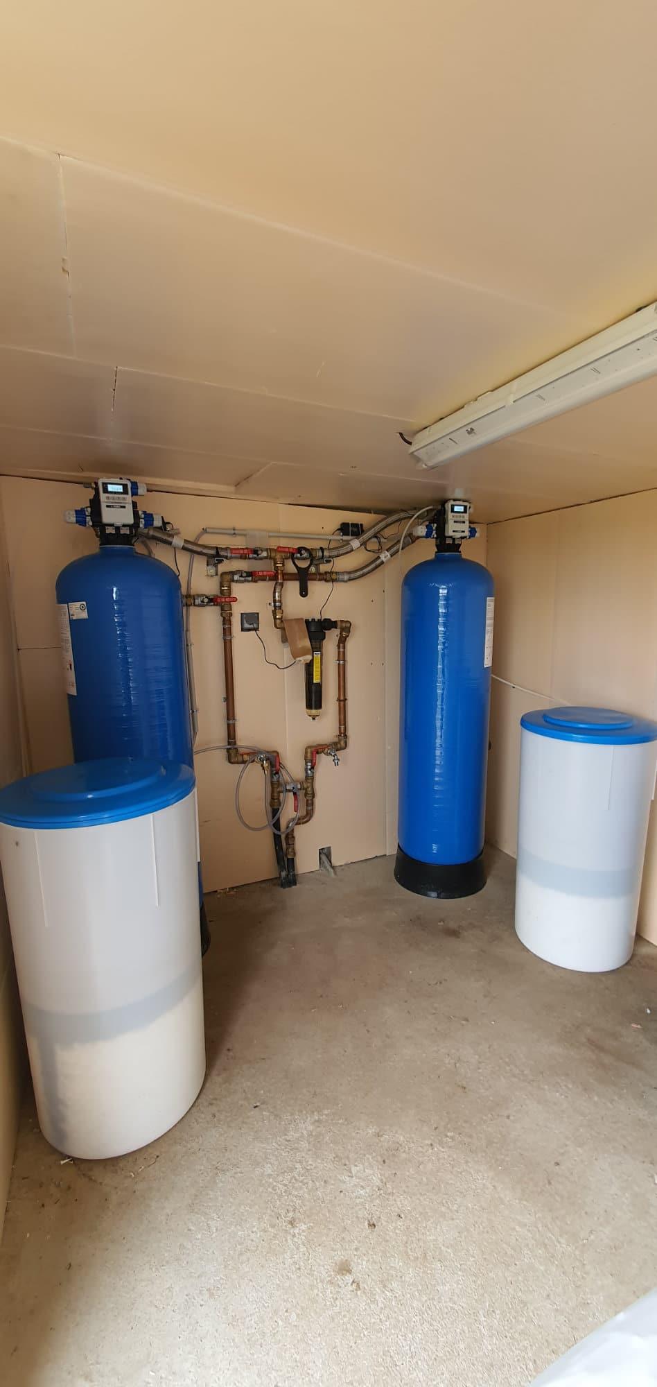 Installation d'un adoucisseur d'eau pour un élevage bovin à Ayron (86)