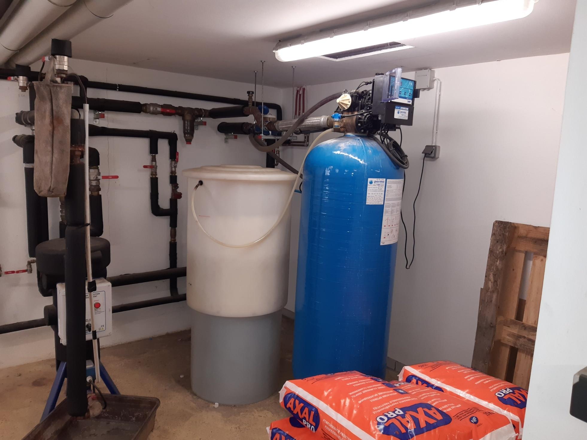 Remplacement adoucisseur BWT au Lycée Gabriel Touchard au Mans (72) - Adoucisseur d'eau pour professionnels