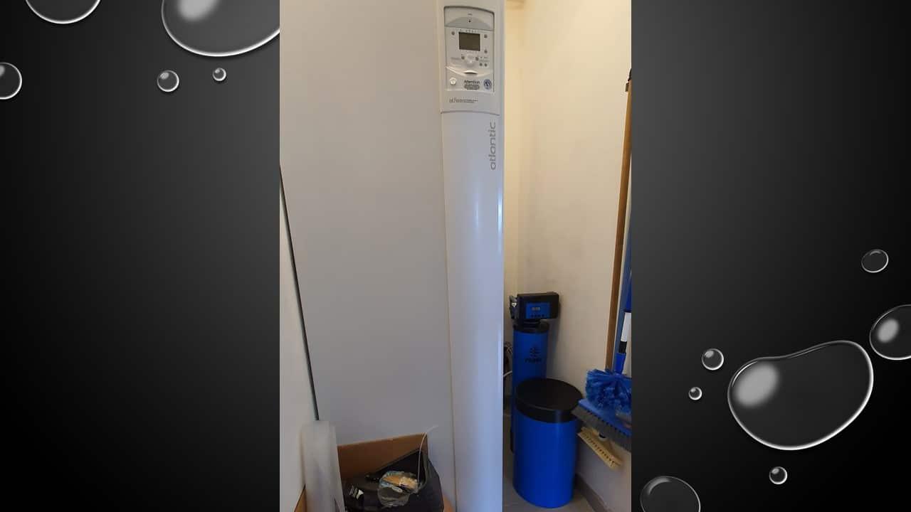 Installation d'un Purotech pour la purification de l'eau à Fatines (72)