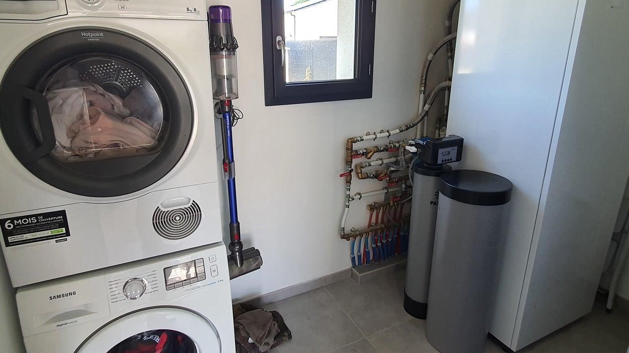 Installation d'un purificateur d'eau Purotech dans une maison neuve à Fatines (72)