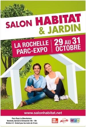 Salon Habitat & Jardin de La Rochelle 2021